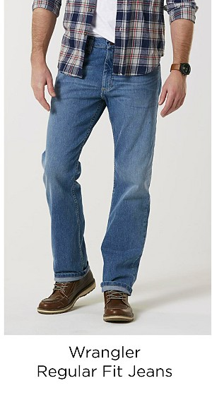 Wrangler Men's Regular Fit Jeans