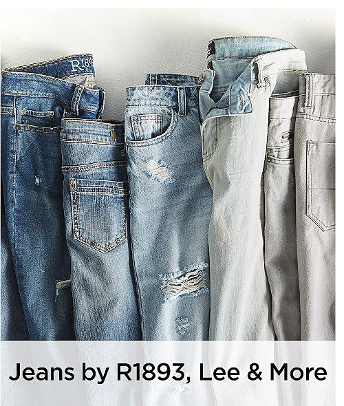 Jeans by R1893, Lee & More