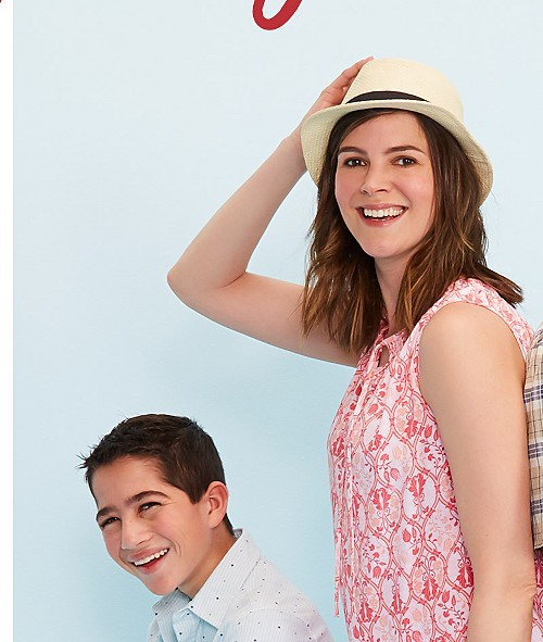 Up to 30% off Tops and Shorts for the Family. Shop Tops