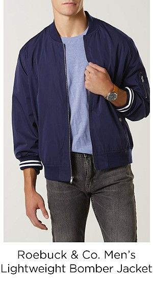 Roebuck & Co. Men's Lightweight Bomber Jacket