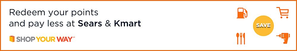 Redeem Your Points and Pay Less at Sears & Kmart