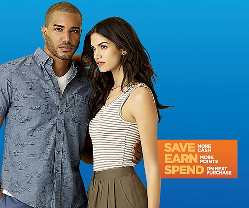Sears Days Best Time to Buy. Earn $10 in Points on $40+ on Clothing, Accessories, Lingerie, and Sleepwear. Ends 4/8/17.
