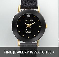 Joyería fina y relojes