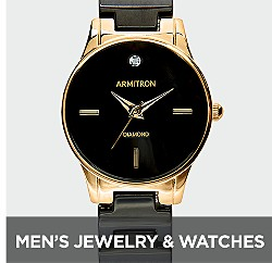Men's Jewelry & Watches