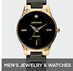 Joyas y relojes para hombres