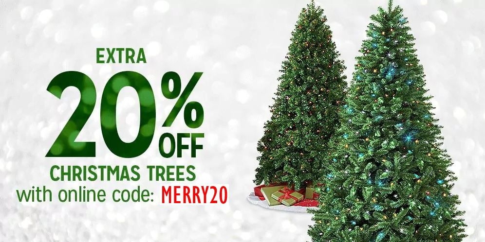 EXTRA 20% OFF WITH ONLINE CODE: MERRY20