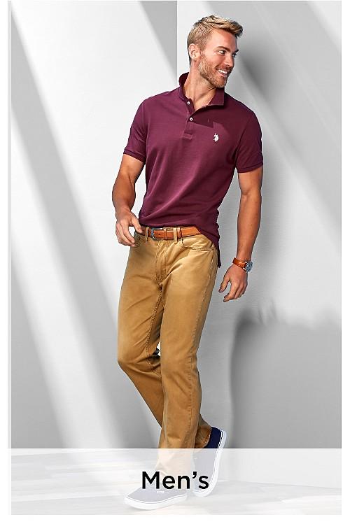 Ver ropa de hombre