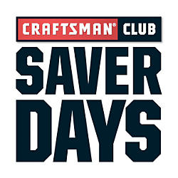 Craftsman Club Saver Day