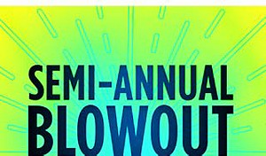 Semi-annual blowout event