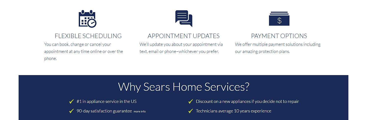 Why Sears Home Services