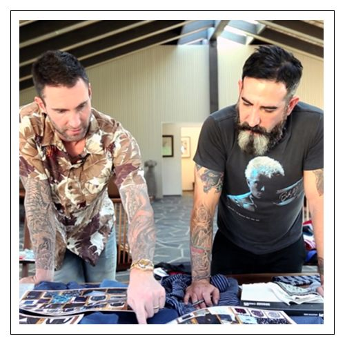 The Dynamic Duo, Adam Levine & Kevin Christiana