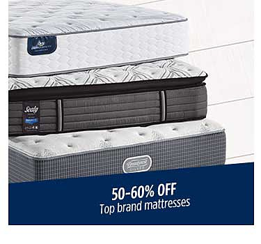 50-60% off top brand mattresses