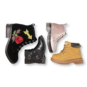 50% off kids' fashion boots