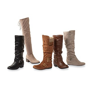 Women's fashion boots, $19.99