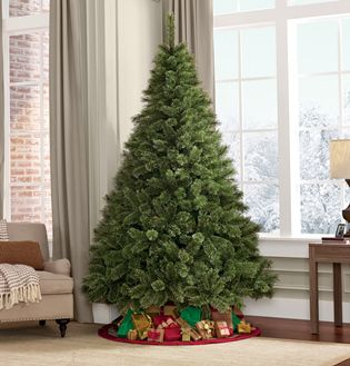 Full-size Christmas tree