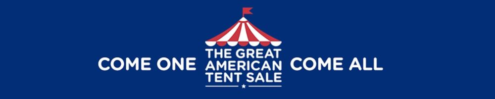 The Great American Tent Sale