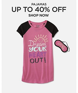 Up to 40% Off Pajamas
