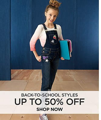 Up to 50% Off Back-to-School Styles. Shop Now.