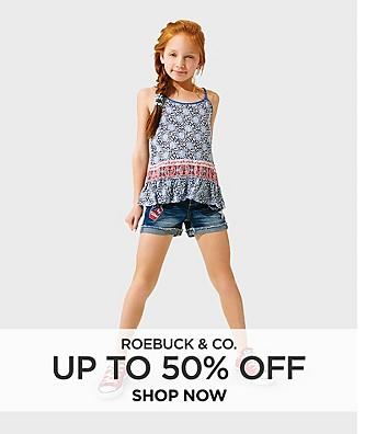 Up to 50% Off Roebuck & Co.
