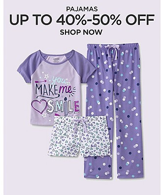 Up to 40-50% off Pajamas