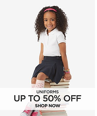 Up to 50% off uniforms