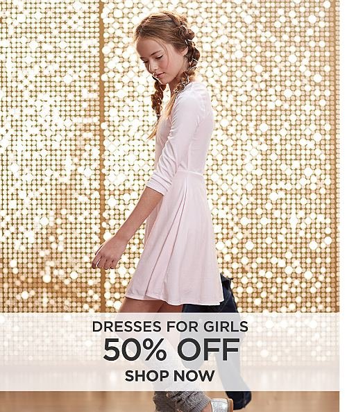 50% off Dresses for girls. Shop Now