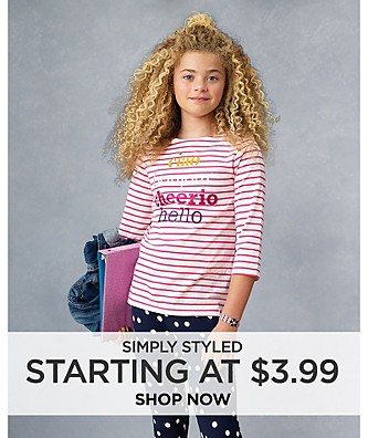 Simply Styled starting at $3.99