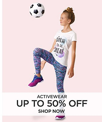Up to 50% off activewear