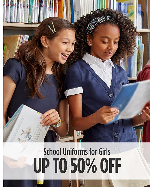 Up to 50% off School Uniforms