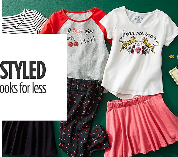 Simply Styled for Girls! Cute Looks for Less