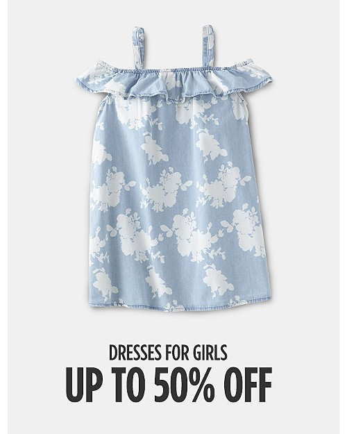 Up to 50% off Dresses for Girls. Shop now