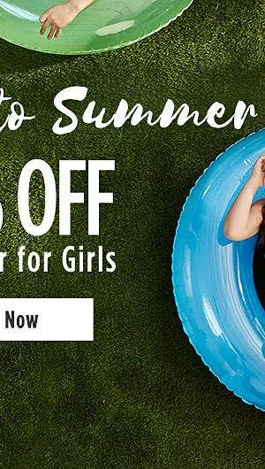 Splash into Summer! 70% off Swimwear for Girls