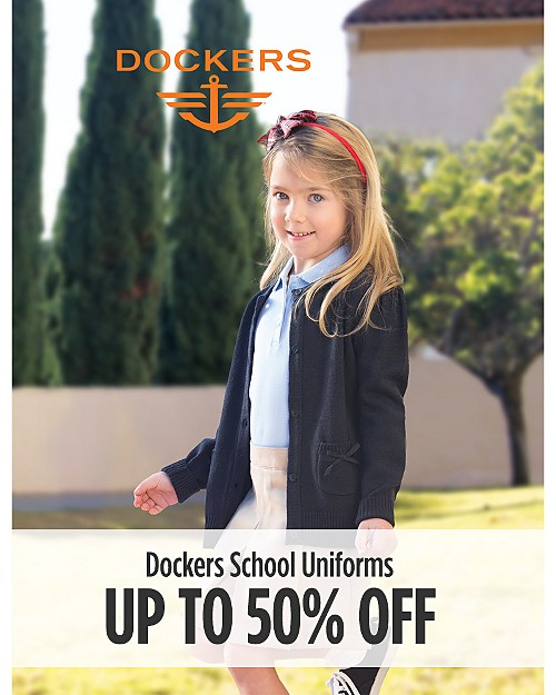 Up to 50% off Dockers School Uniforms