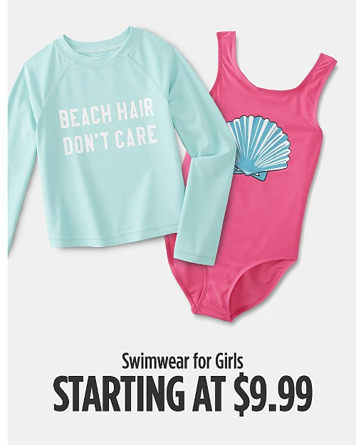Swimwear for Girls Starting at $9.99. Shop now
