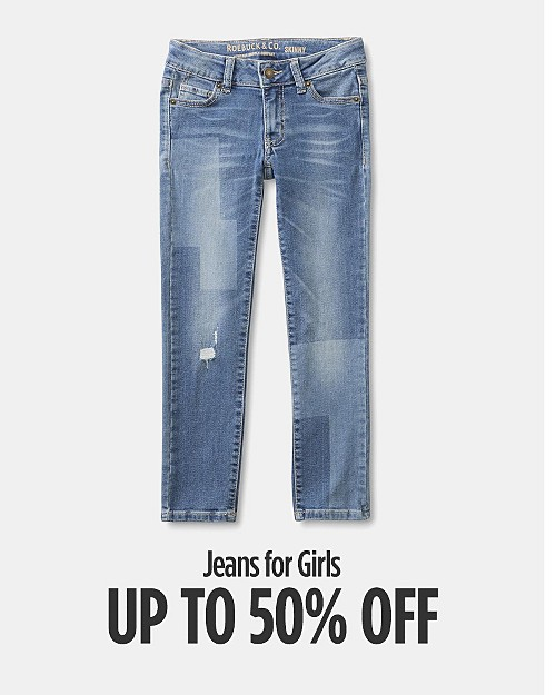 Up to 50% Off Jeans for Girls. Shop now