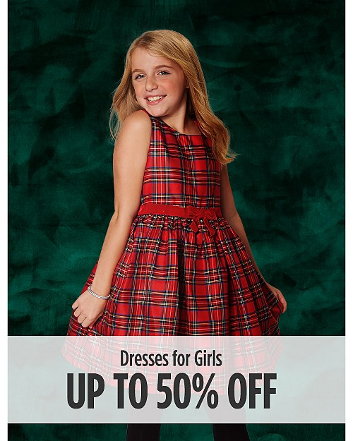 Up to 50% Off Dresses for Girls