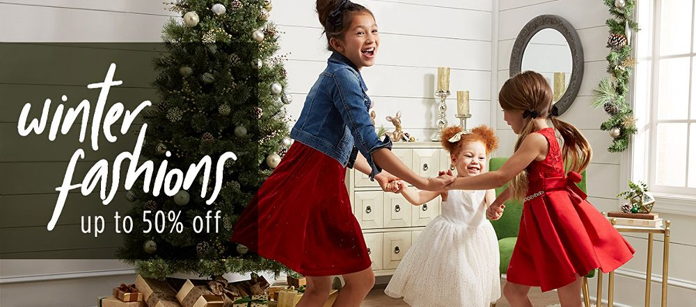 Up to 50% Off Winter Fashions for Girls