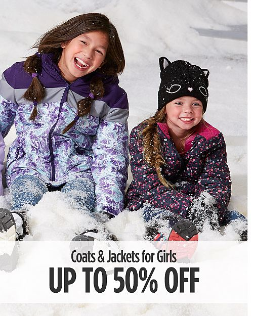 Up to 50% Off Coats & Jackets for Girls