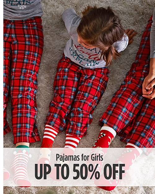 Up to 50% off Pajamas for Girls