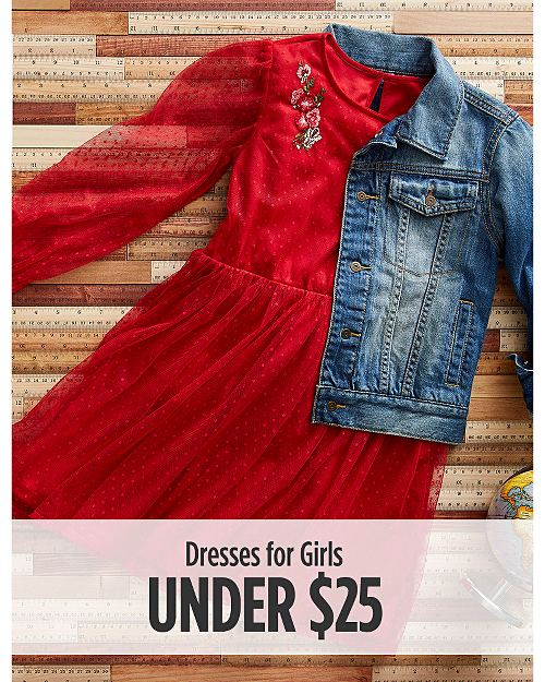 Dresses for Girls Under $25