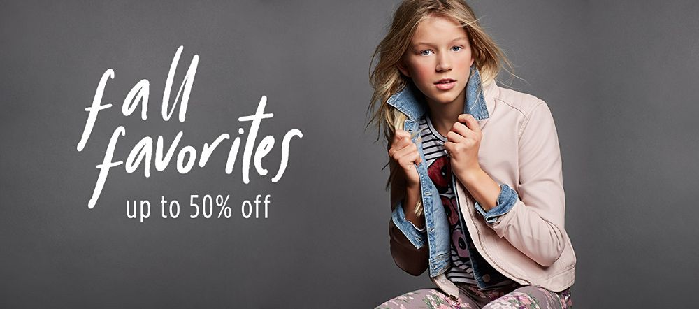Up to 50% off Fall Favorites!