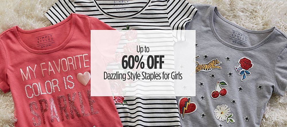 Up to 60% Off Girls Clothes