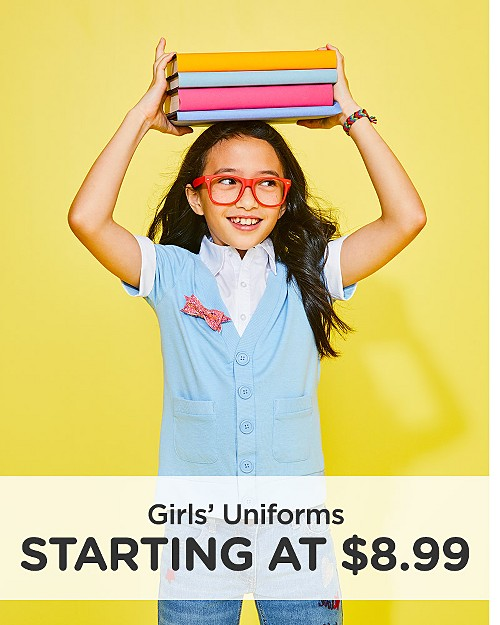 Girls' Uniforms Starting at $8.99