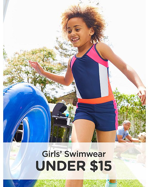 Girls' Swimwear Under $15