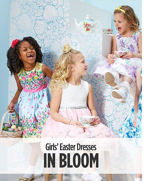ca125b9a0a42a Girls  Easter Dresses