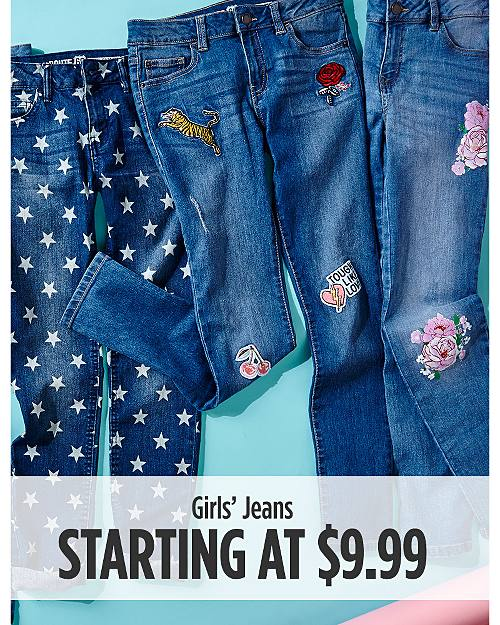 3e03f3a222bb9 Girls  Jeans Starting ...