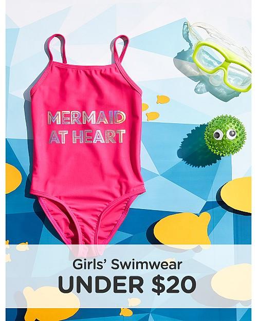 Girls' Swimwear Under $20