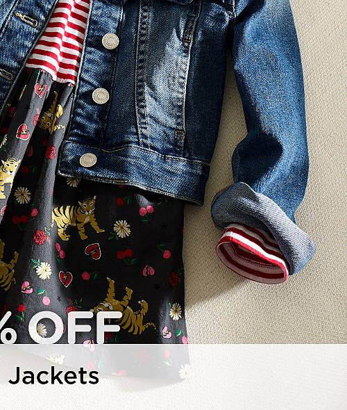 Up to 30% Off Girls' Coats & Jackets