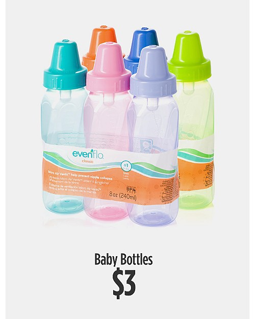$3 Baby Bottles
