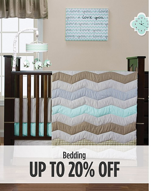 Up to 20% off Bedding